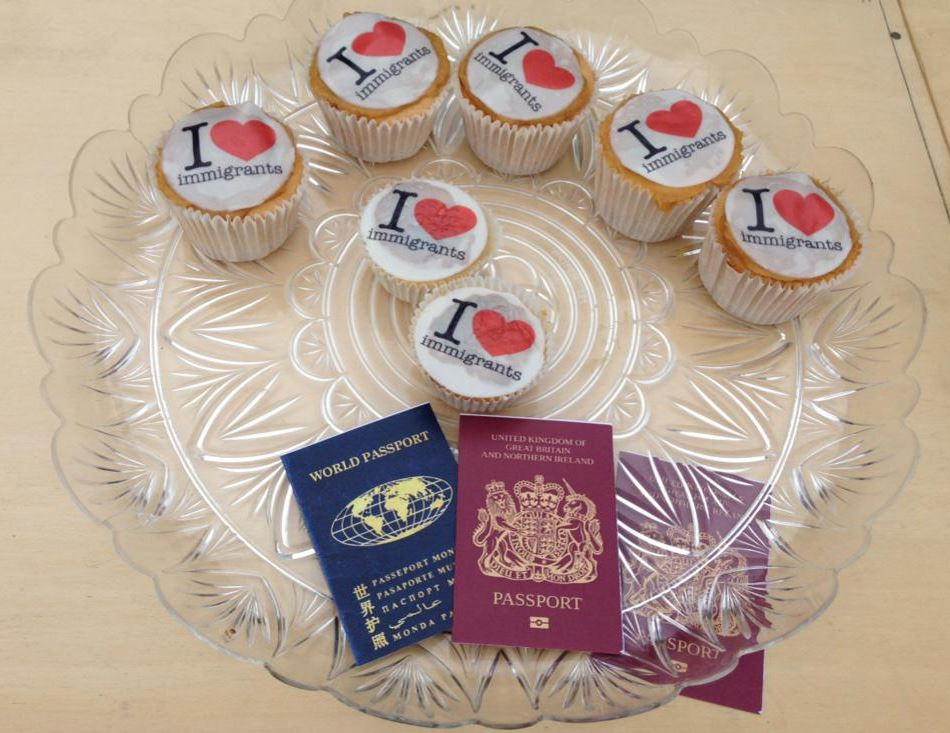 immigrants cupcakes