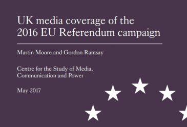 Study: UK Media Coverage of the 2016 EU Referendum Campaign