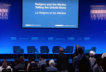 Event: Religion and the Media: Telling the Untold Story