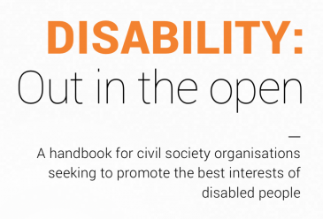 Disability: Out in the Open