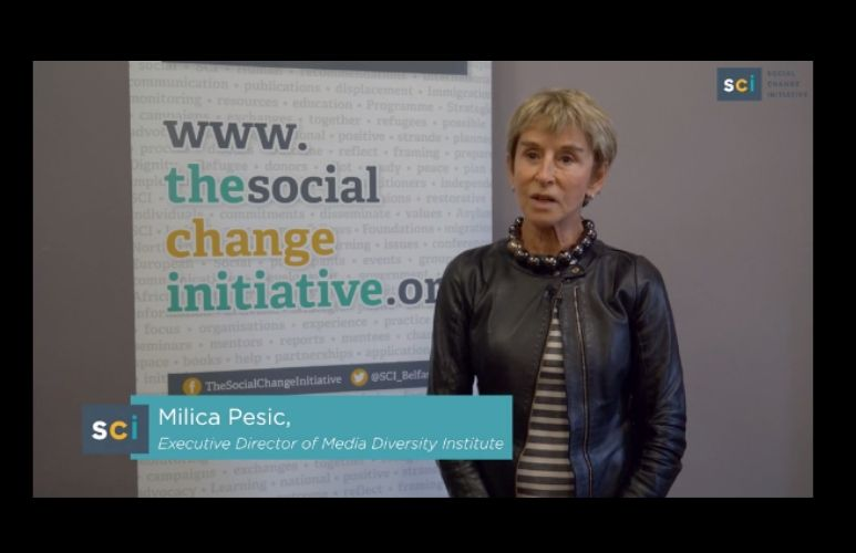 MDI at the Social Change Initiative (SCI) Conference in Belfast: Media...