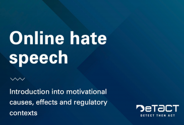 Online hate speech: Introduction into motivational causes, effects and...