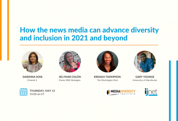 How the news media can advance diversity and inclusion in 2021 and bey...