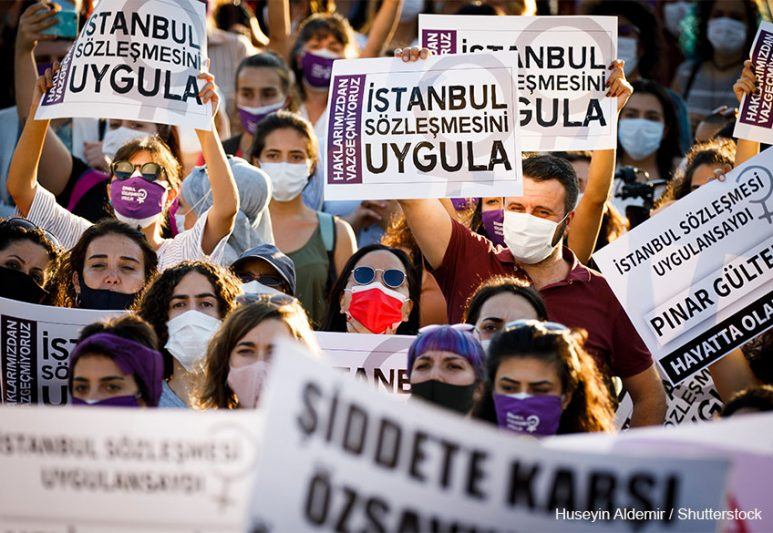 """The Annulment of the Istanbul Convention in Turkey """"Can Turn int..."""