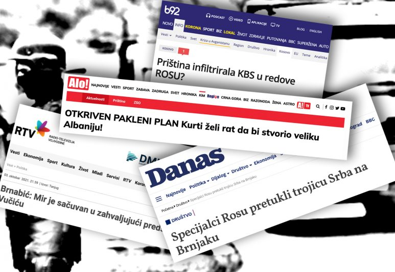 Battle over Headlines: The Kosovar and Serbian Media are on Different ...